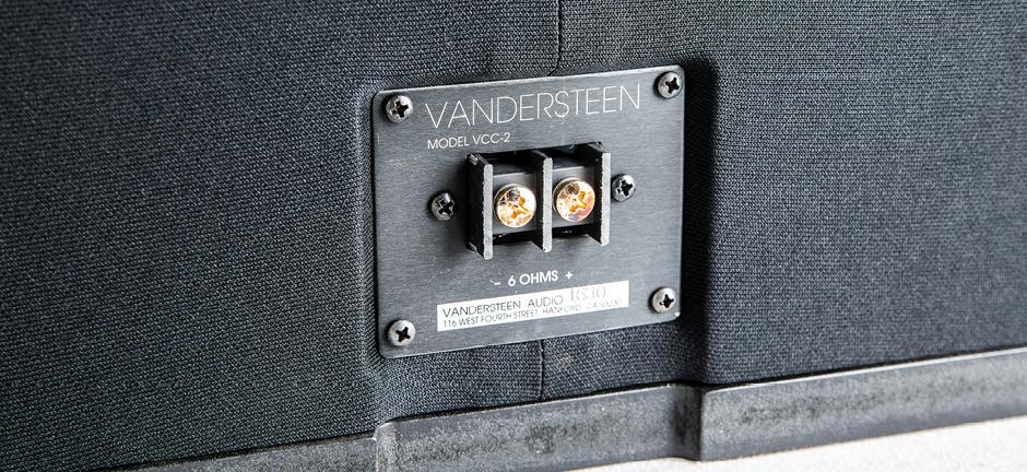 Vandersteen VCC-2 Black